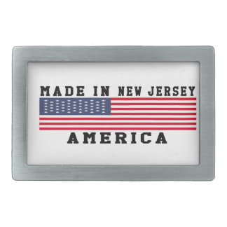 New Jersey Made In Designs Belt Buckles