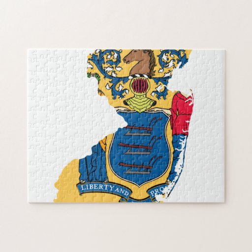NEW JERSEY MAP JIGSAW PUZZLE