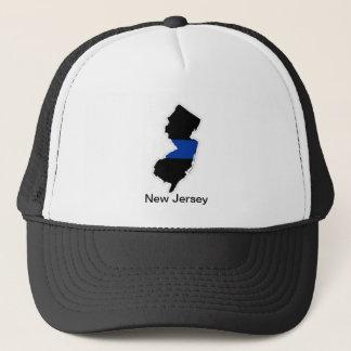 New Jersey Map, New Jersey Trucker Hat