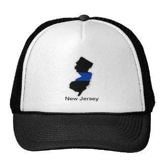 New Jersey Map, New Jersey Trucker Hat