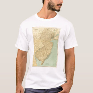 New Jersey Map T-Shirt