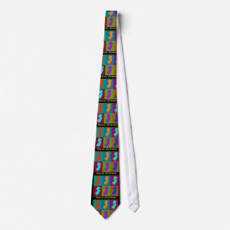 New Jersey Map Tie