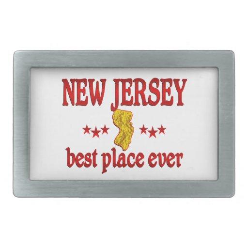 New Jersey mejor Hebilla De Cinturon