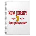 New Jersey mejor Libreta Espiral