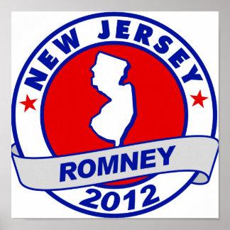 New Jersey Mitt Romney Posters