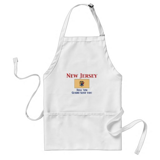 New Jersey Motto Adult Apron