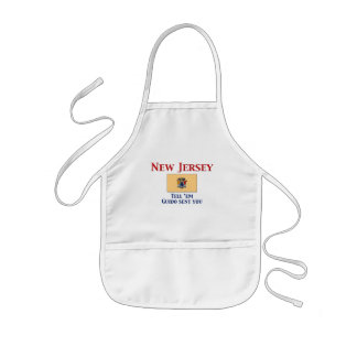 New Jersey Motto Kids' Apron