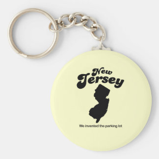 New Jersey Motto - We invented the parking lot Keychain