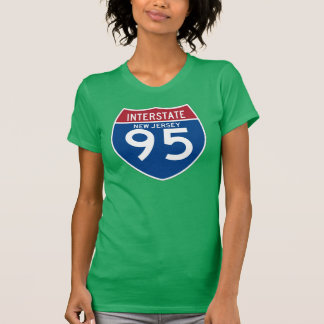 New Jersey NJ I-95 Interstate Highway Shield - T-Shirt