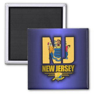 New Jersey (NJ) Imán Cuadrado