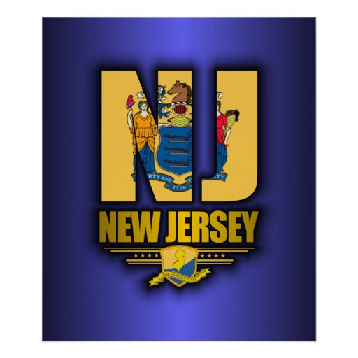New Jersey (NJ) Poster