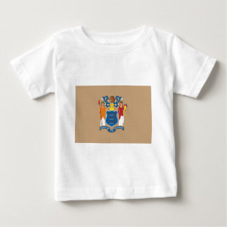 New Jersey  Official State Flag Baby T-Shirt