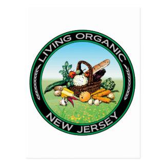 New Jersey orgánico Postales