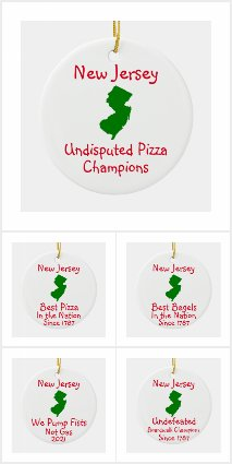 New Jersey Ornaments and T-Shirts