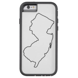 New Jersey Outline Tough Xtreme iPhone 6 Case