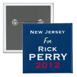 New Jersey para el botón de la campaña de Rick Per Pin