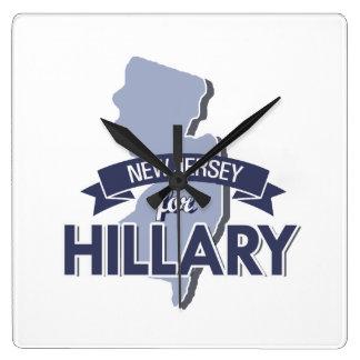 NEW JERSEY PARA HILLARY - .PNG RELOJ