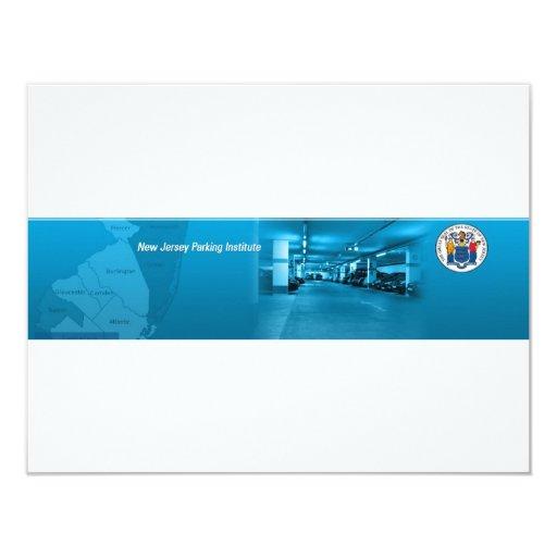 New Jersey Parking Institute Custom Announcement
