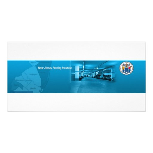 New Jersey Parking Institute Personalized Photo Card