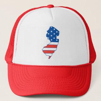 New Jersey Patriotic Hat