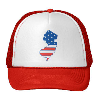 New Jersey Patriotic Hat
