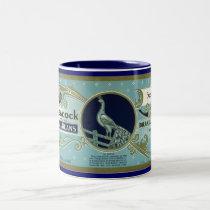 New Jersey Peacock Mug