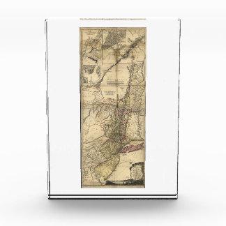 New Jersey Pennsylvania New York Map (1777) Award