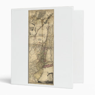 New Jersey Pennsylvania New York Map (1777) Binder