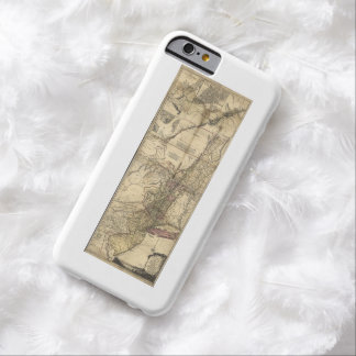 New Jersey Pennsylvania New York Map (1777) Barely There iPhone 6 Case