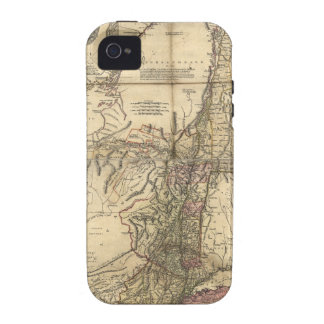 New Jersey Pennsylvania New York Map (1777) Case-Mate iPhone 4 Covers