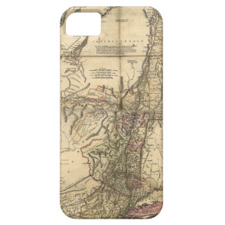 New Jersey Pennsylvania New York Map (1777) iPhone 5 Covers