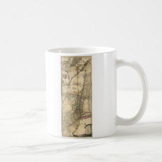 New Jersey Pennsylvania New York Map (1777) Coffee Mug