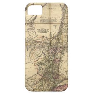 New Jersey Pennsylvania New York Map (1777) iPhone SE/5/5s Case