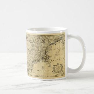 New Jersey Pennsylvania New York New England 1747 Coffee Mug
