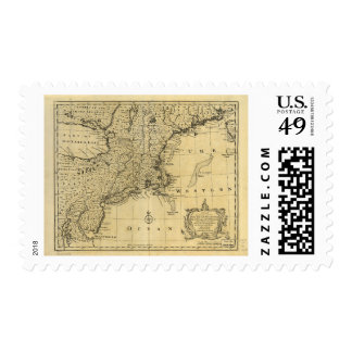 New Jersey Pennsylvania New York New England 1747 Postage