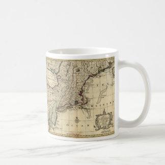 New Jersey Pennsylvania New York New England 1752 Coffee Mug