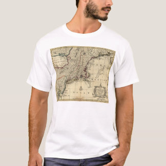 New Jersey Pennsylvania New York New England 1752 T-Shirt
