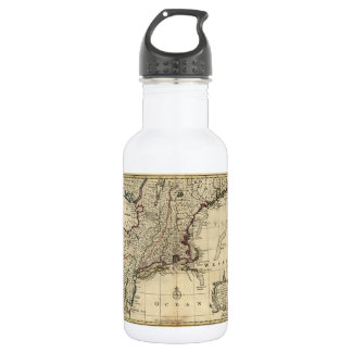 New Jersey Pennsylvania New York New England 1752 Water Bottle