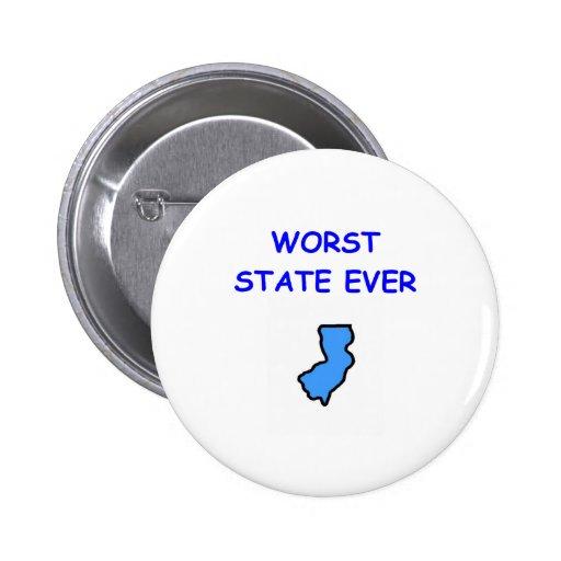 New Jersey Pin