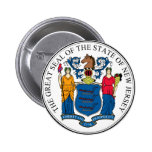 New Jersey Pinback Buttons