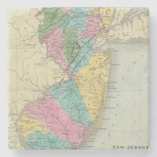 New Jersey Posavasos De Piedra