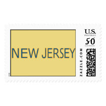 New Jersey Postage Stamps