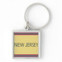 New Jersey Premium Keychain