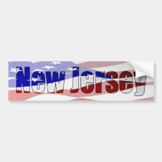 New Jersey Pride Bumper Sticker