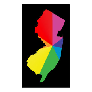 new jersey pride Double-Sided standard business cards (Pack of 100)