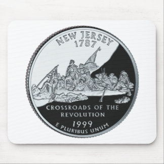 New Jersey Quarter Mouse Pad
