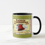 New Jersey Red Bell Cranberry Mug