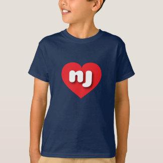 New Jersey red heart - mini love T-Shirt