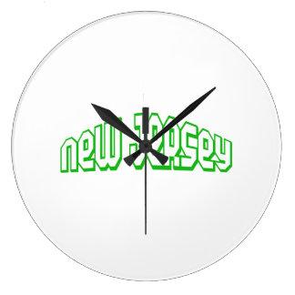 New Jersey Reloj De Pared