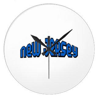 New Jersey Relojes De Pared